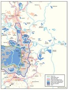 PASSIA - MAPS - Jerusalem - ISRAELI SETTLEMENTS AND PALESTINIAN ...