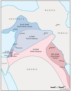 THE SYKES-PICOT AGREEMENT, 1916
