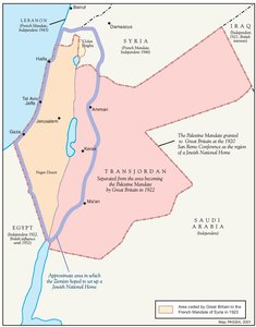 PALESTINE UNDER THE BRITISH MANDATE
