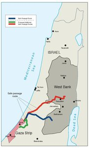 PROTOCOL CONCERNING SAFE PASSAGE BETWEEN THE WEST BANK AND THE GAZA STRIP, 5 OCTOBER 1999