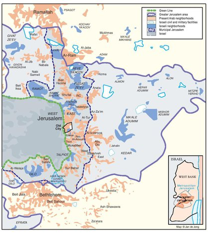 PASSIA - MAPS - Jerusalem